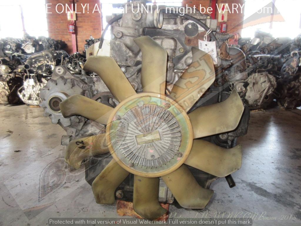 MITSUBISHI FUSO -4M51 5 2L NON-TURBO DIESEL EFI Engine