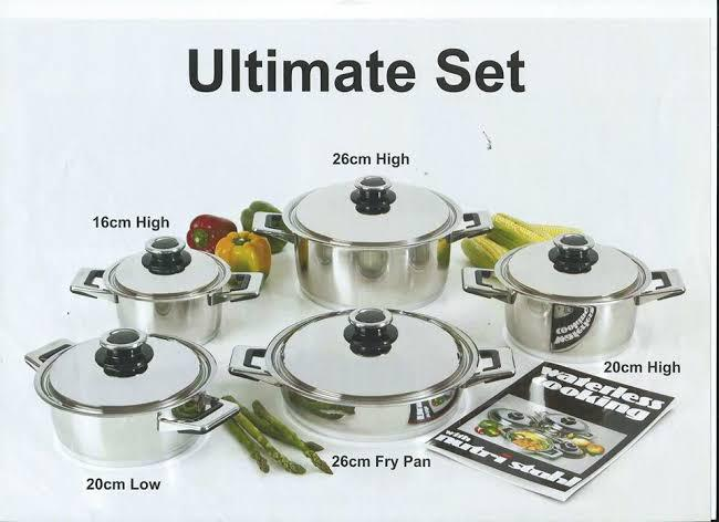 Nutri Stahl Pot Set