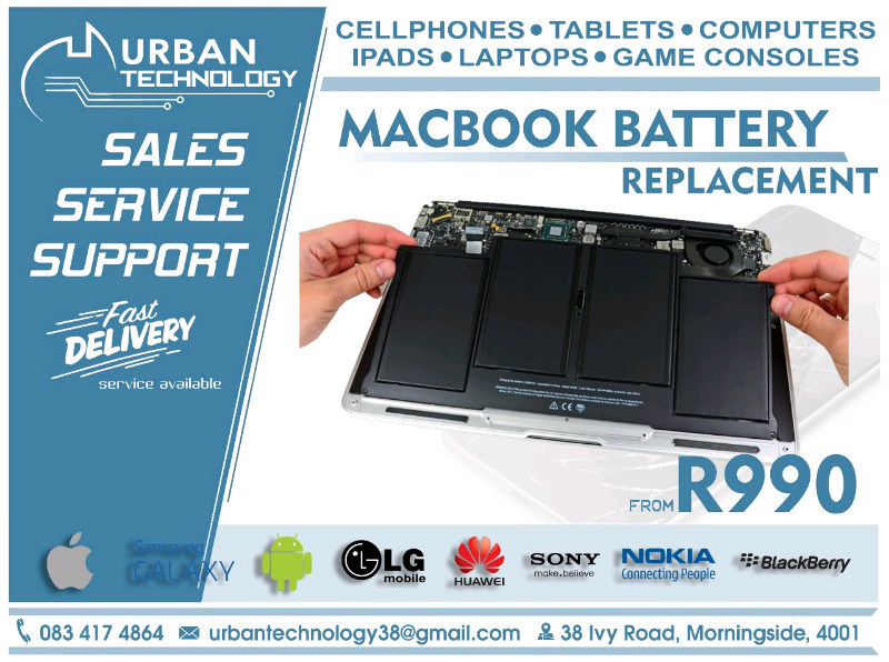 MacBook Replacement Batteries