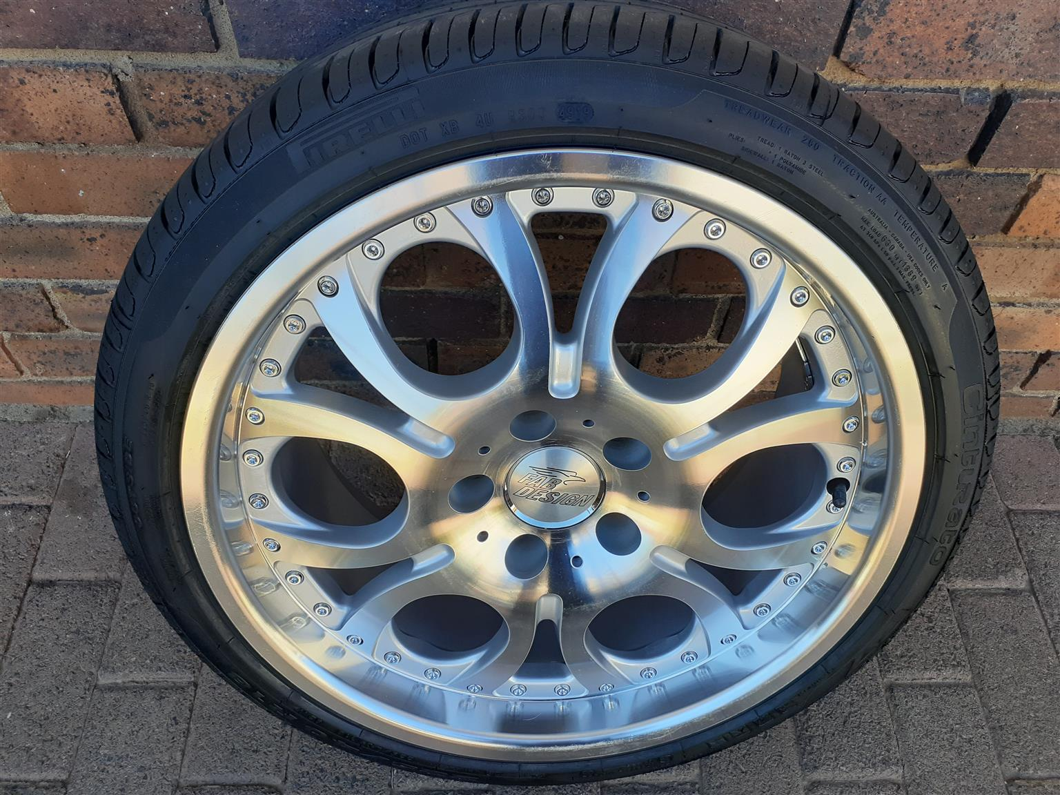 "Brand new  18"" Mags and Tyres"