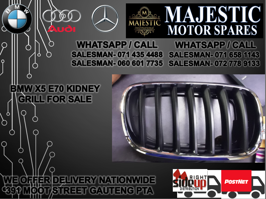 Bmw e70 kidney grill for sale
