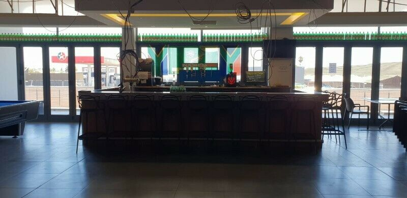 Commercial Bar Counter 5m X 3 m