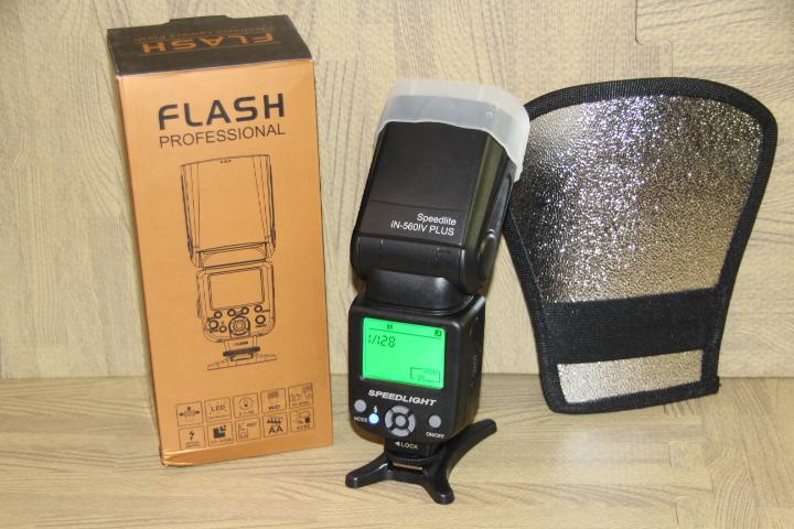 Speedlight wireless camera flash for Nikon and Canon
