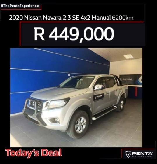 2020 Nissan Navara 2.3D double cab 4x4 SE