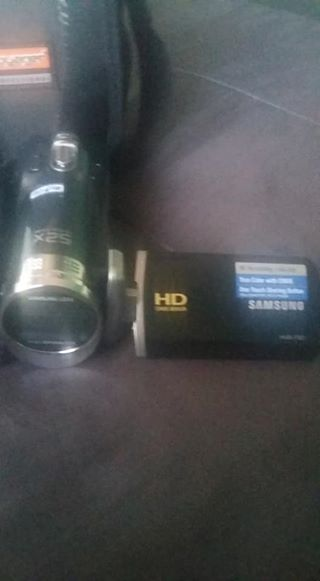 new samsung video camera working in perfect condition