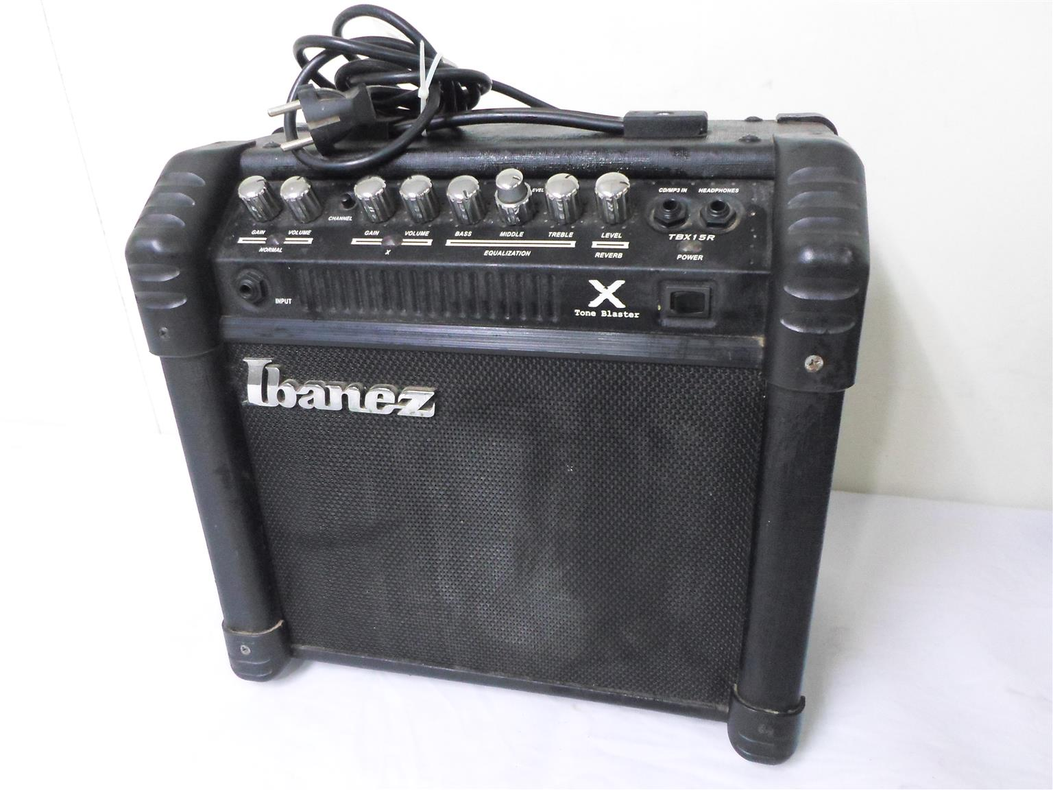 Guitar Amplifier Ibanez TBX15R