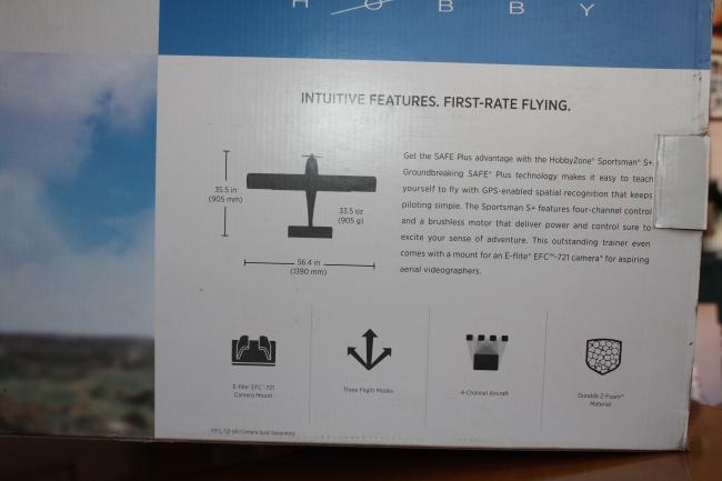 RC Plane - HobbyZone Sportsman S+