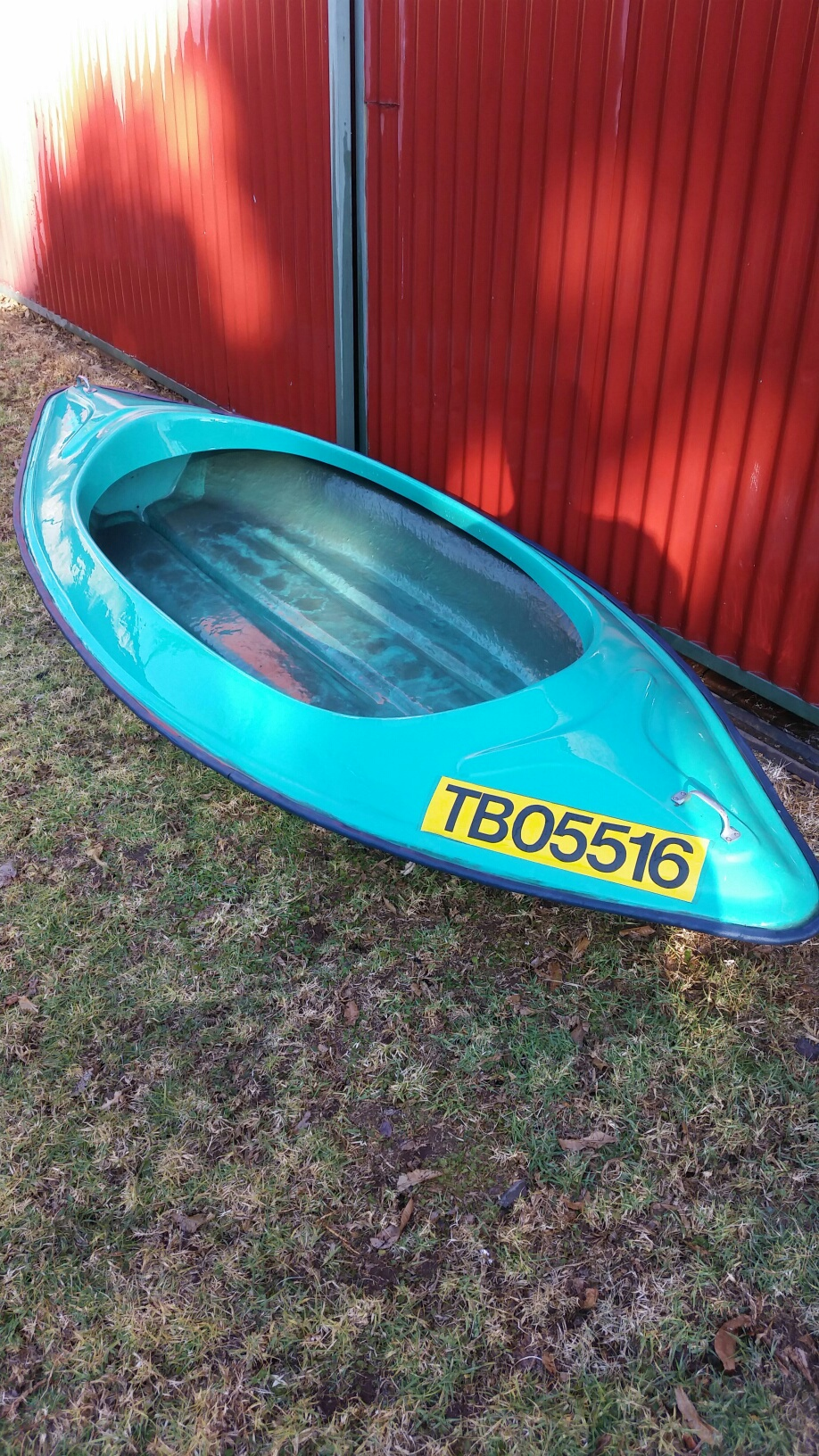 Canoe 2 seater in very good condition.
