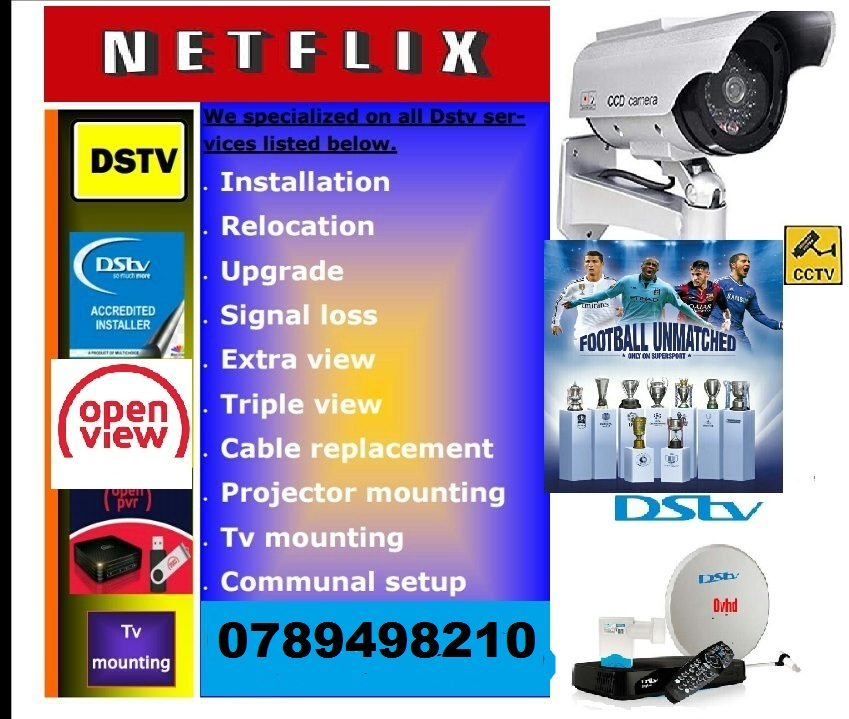 Gillits Dstv installations, dstv, repairs, dstv relocation and Cctv camera installations