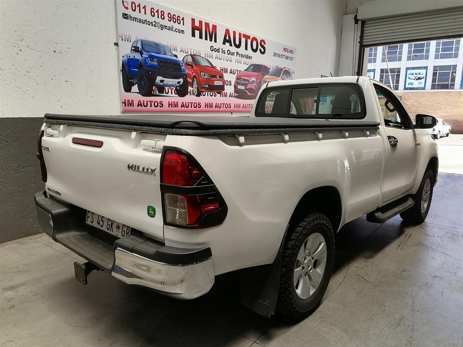 2017 Toyota Hilux 2.8GD 6 Raider