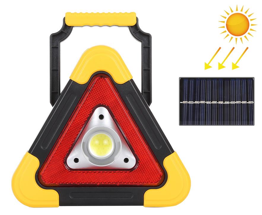 Solar Emergency Warning Triangle