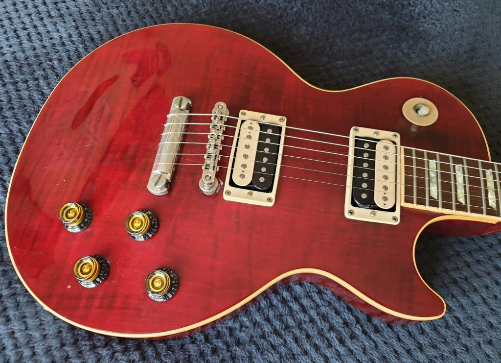 Gibson Les Paul Standard - USA 2004 - Wine Red - Players Guitar