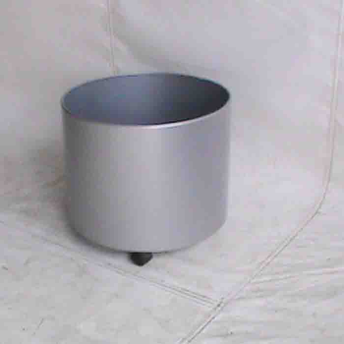Grey plant holder