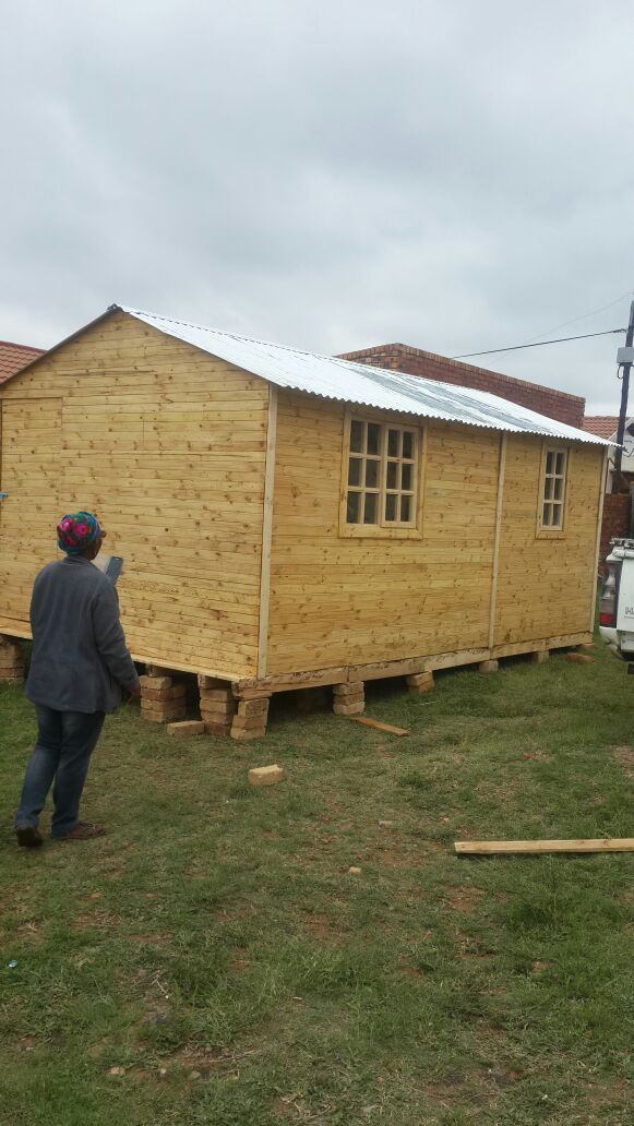 We build and install wendy houses