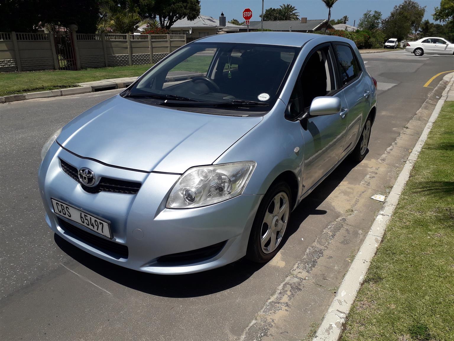 2008 Toyota Auris 1.6 RT