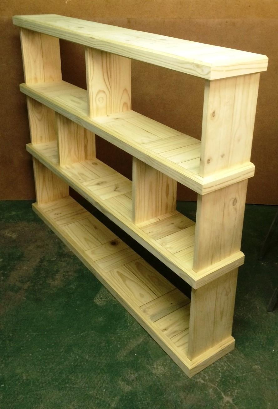 Bookshelf Farmhouse series 1625 Slimline Raw