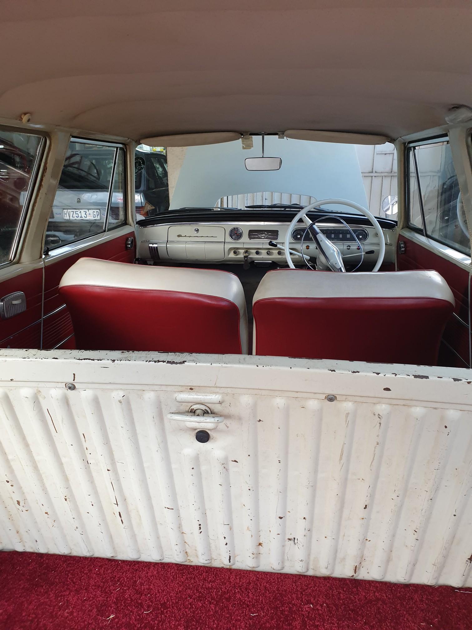 1962 Opel Olympia Station Wagon