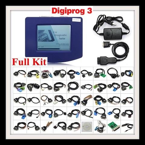 Digiprog III Digiprog3 Odometer Master Programmer Entire Kit