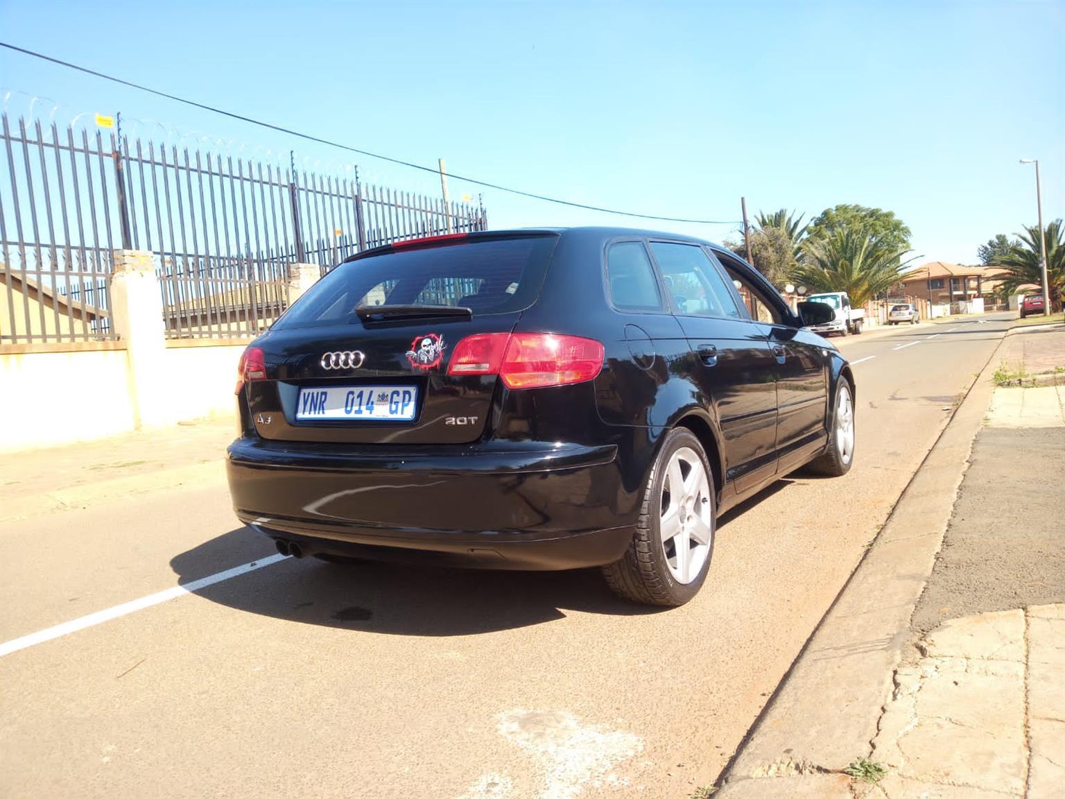 2008 Audi A3 2.0 Turbo bwa engine