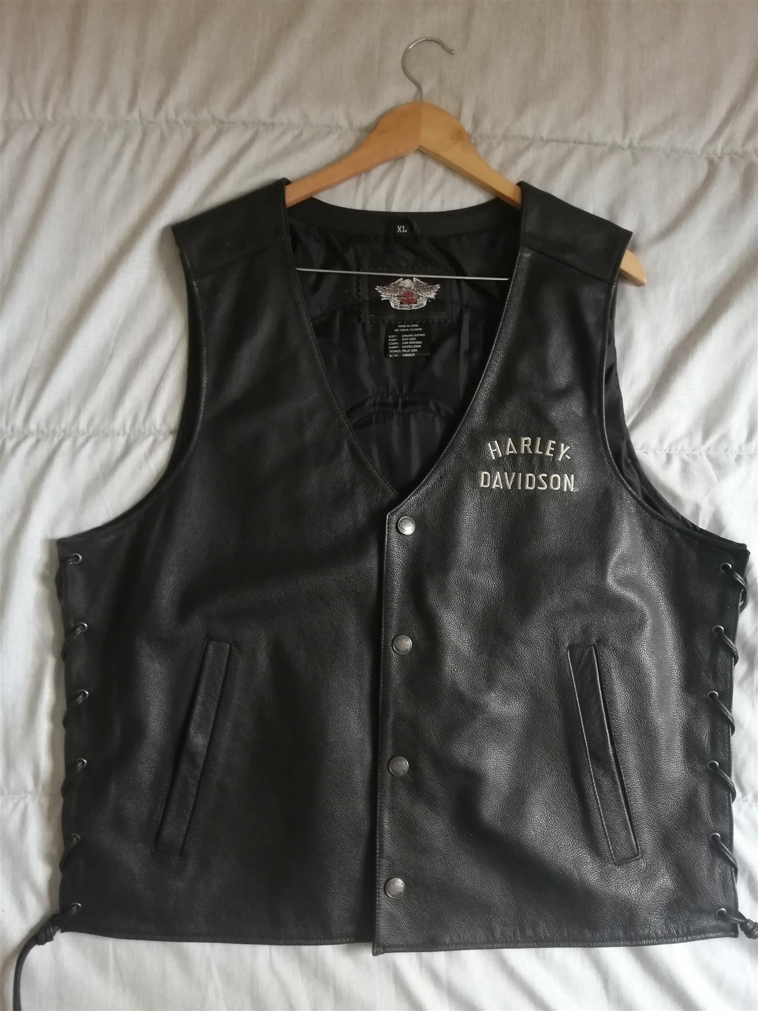 Leather jacket - Harley Davidson