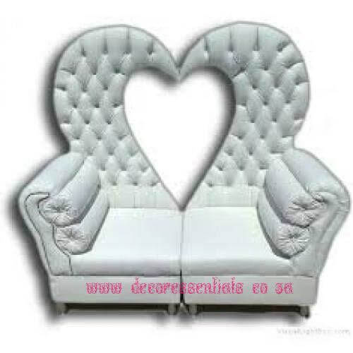 Heart Shaped Wedding furniture for sale