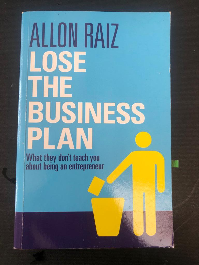 Book_Lose the business plan by Allon Raiz in Paperback