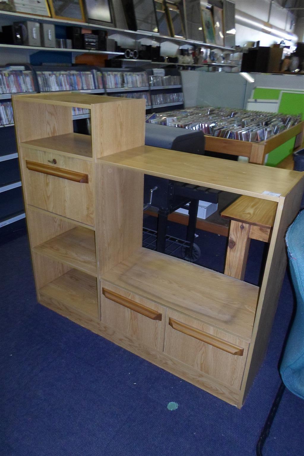 Wooden TV Cabinet - B033042588-13