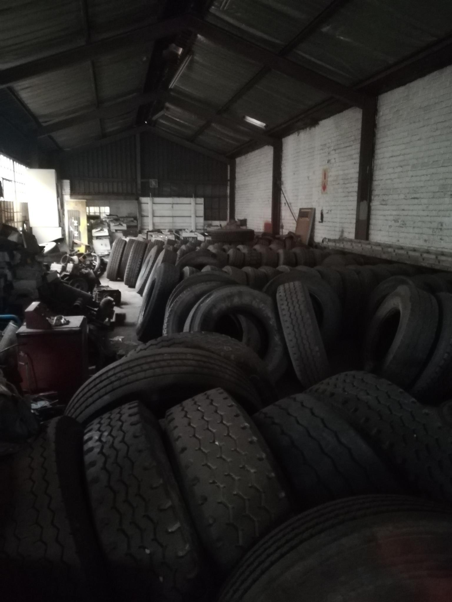 Used truck and trailer tyres