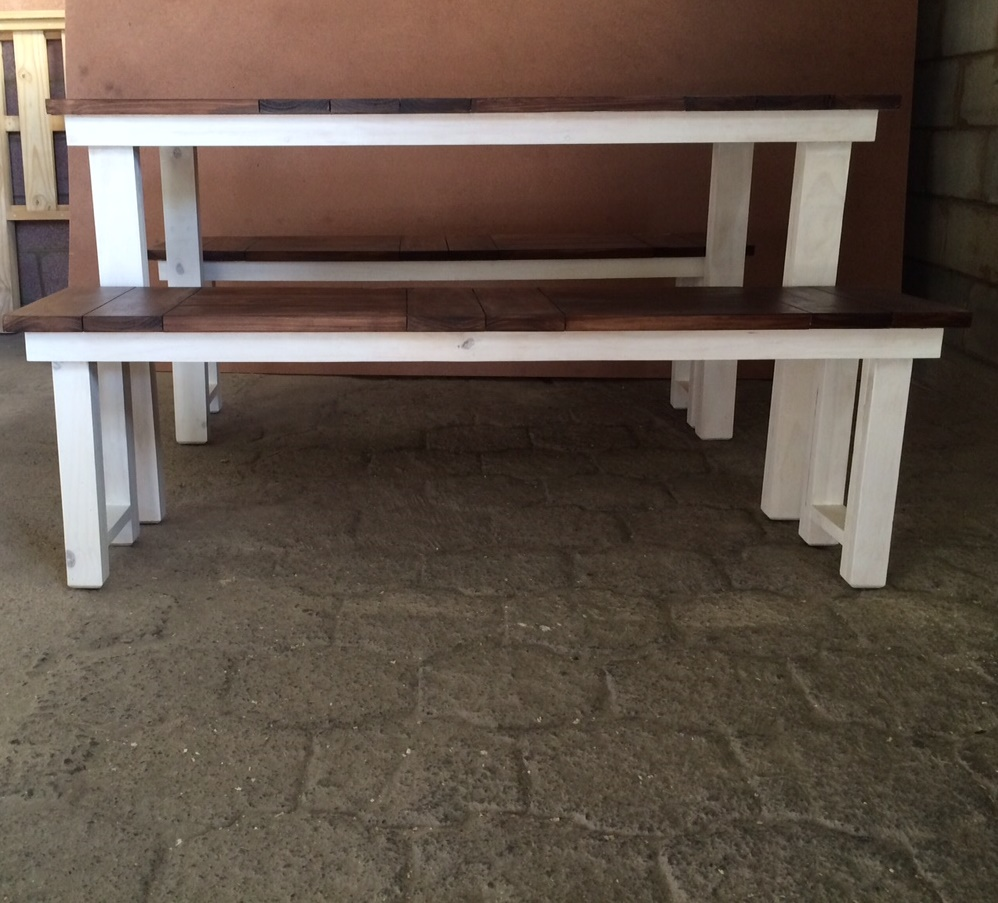 Patio table Cottage series 6 seater combo 1 Two tone