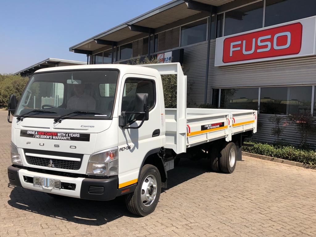 SPECIAL ! NEW FUSO Canter 4 Ton Dropside Truck COMPLETE only R5 999 p/m  ready to go ! | Junk Mail