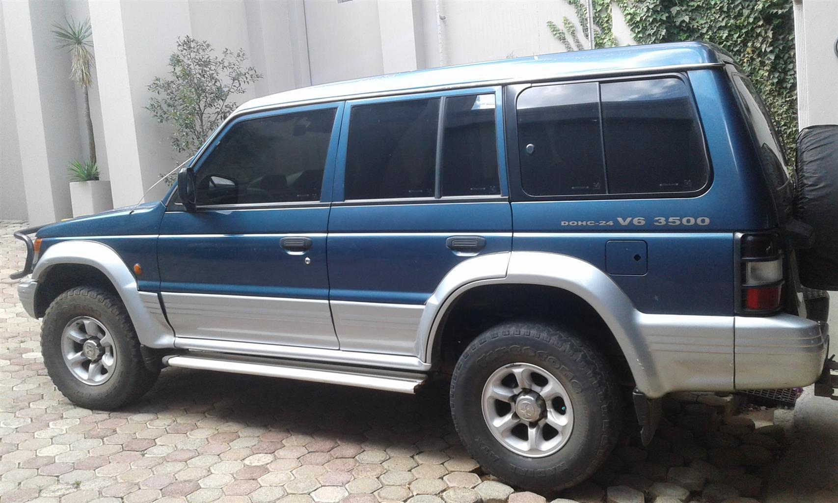 PAJERO, 1997,  4X4, LWB, V6, 3500 CC, 24 VALVE,  DOHC, ORIGINAL.