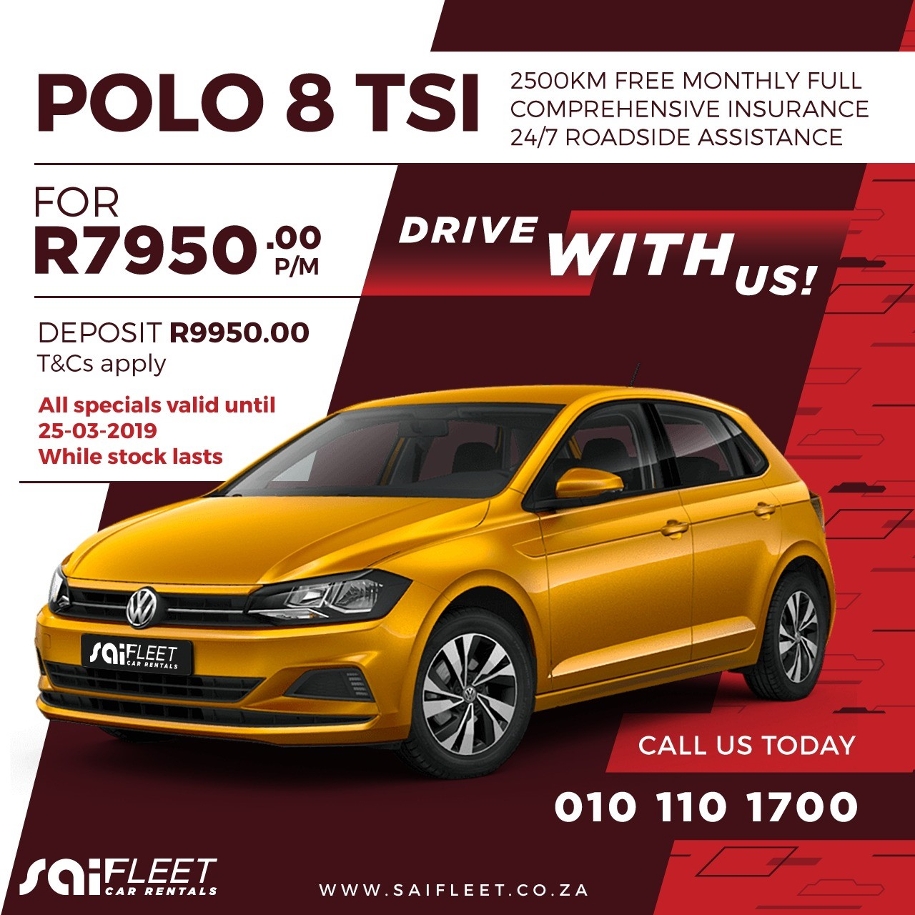 2019 VW Polo 1.2TSI Trendline