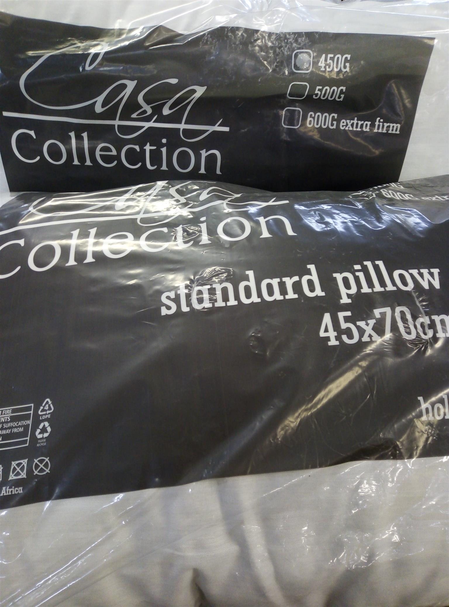 Twin pack pillows