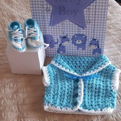baby crochet tekkies/tops/combos