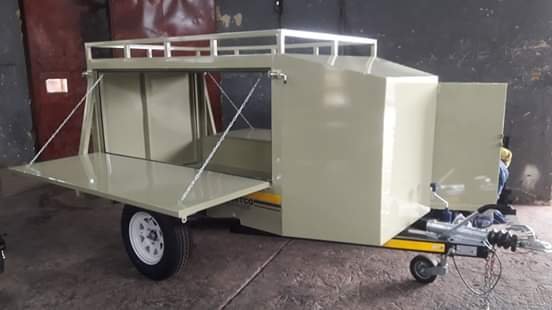 2m Box trailers for sale
