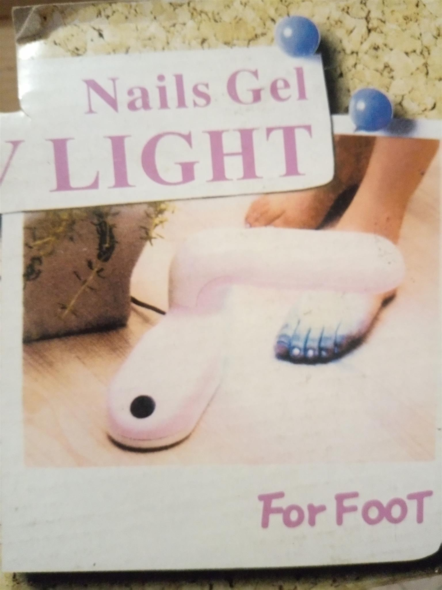 UV home nail gel light