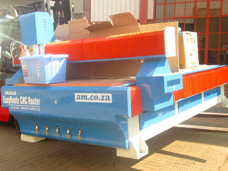 R-1325LK/50V EasyRoute 380V Lite 1300x2500mm PVC Clampable Vacuum CNC Router, 5kW Water