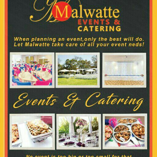 Events catering Decor