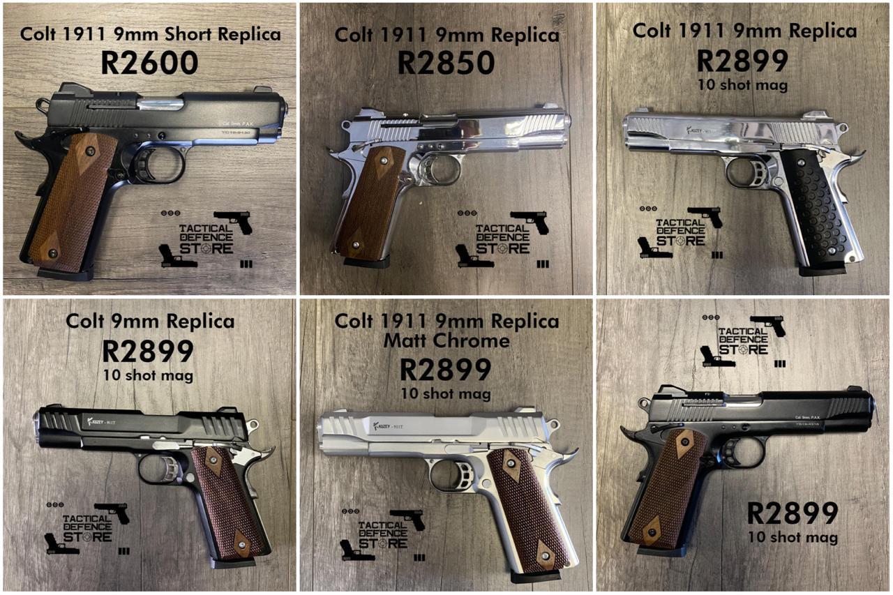 SELF DEFENCE BLANK/PEPPER FIRING PISTOLS/GUNS