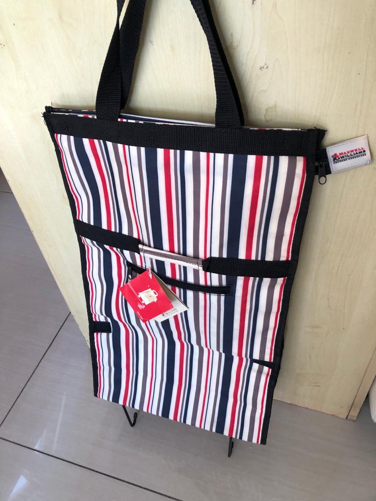 Maxwell and Williams Maxi Bag trolley shopping bag - foldable - NEW!