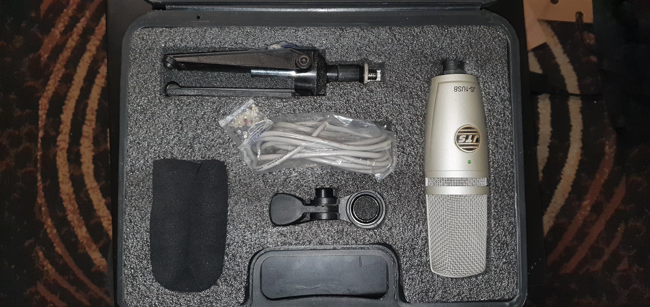 JTS condenser studio microphone