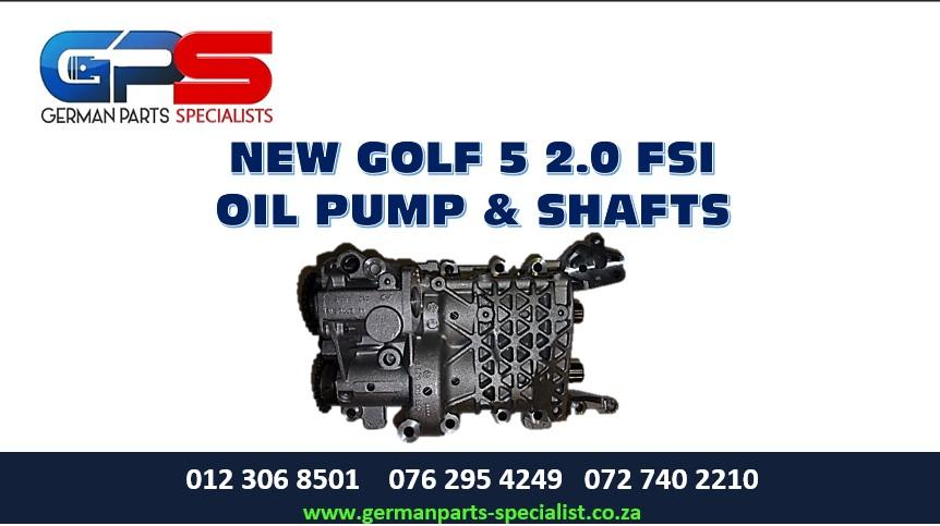 VW Golf 5 2.0 FSI New Oil Pump