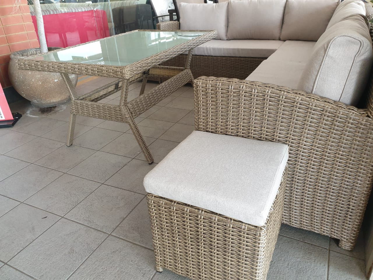 Nowra Wicker Patio Set Was R 17995 Now R 12495 Junk Mail
