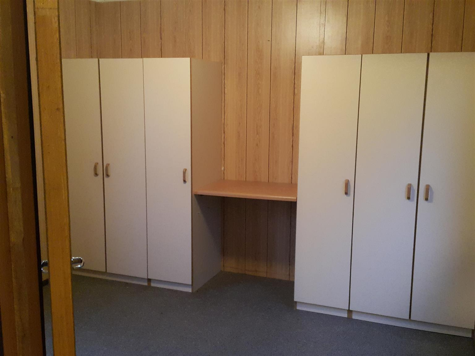 Mobile Home up for sale can be used as an office or home,17.42mx3.58m.
