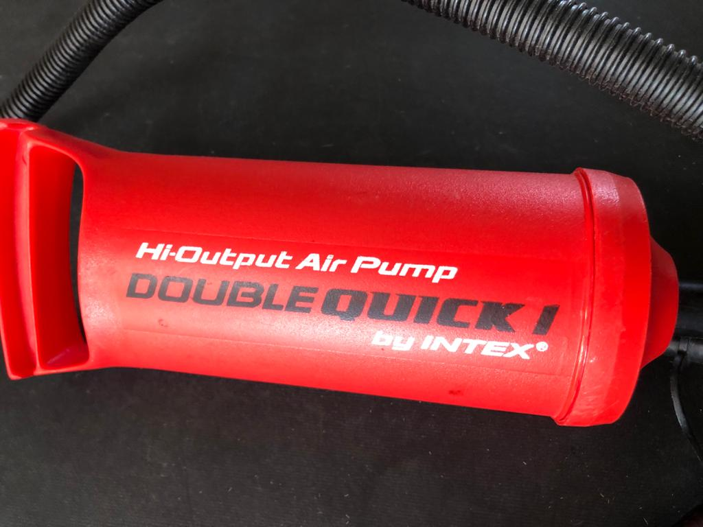 Intex Double Quick Hi-output Air pump  Great for camping