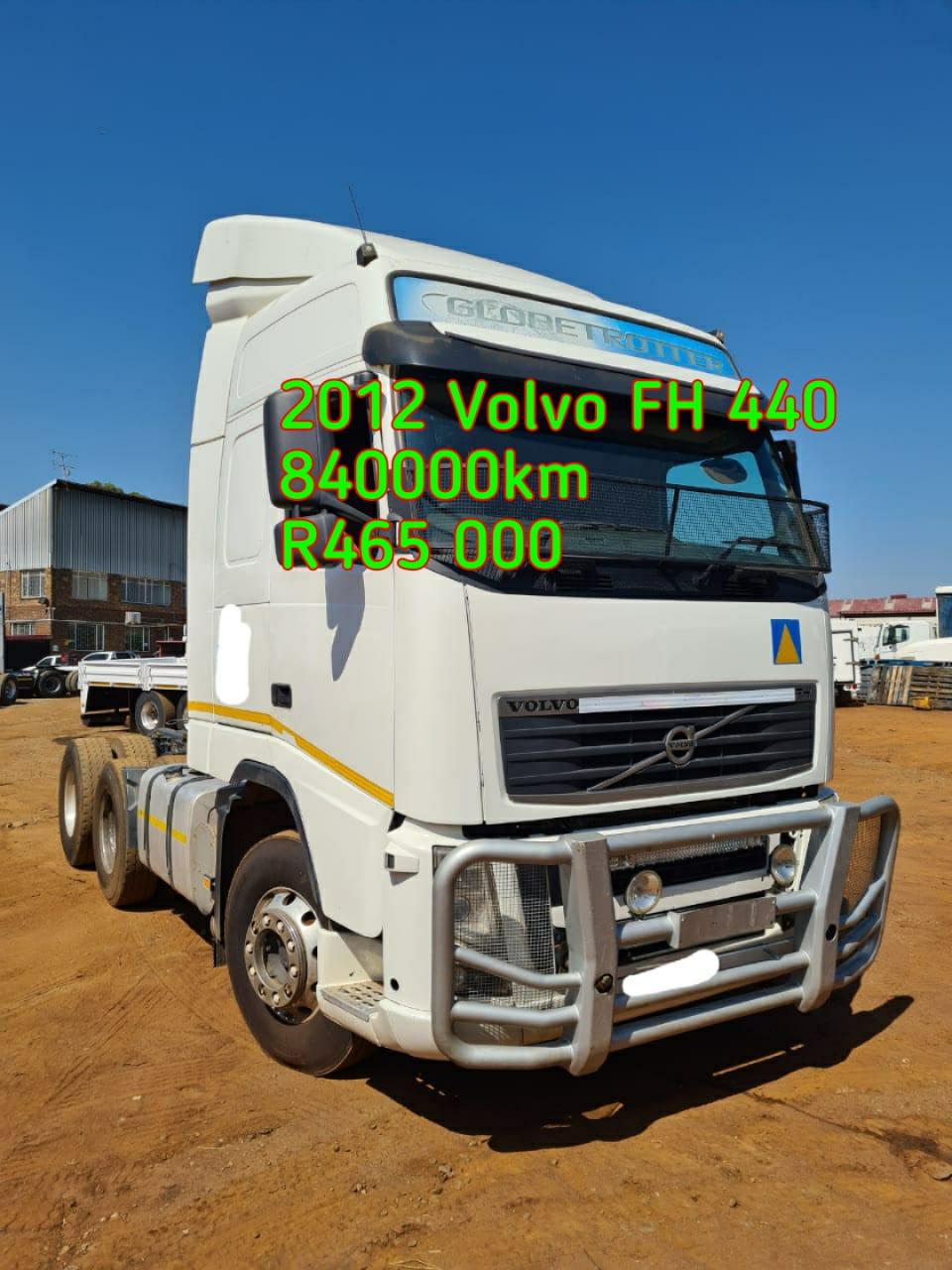 2012 Volvo FH440