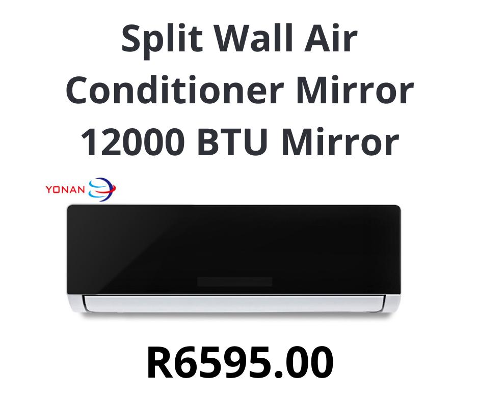 Split Wall Air Conditioner Mirror 12000 BTU Mirror