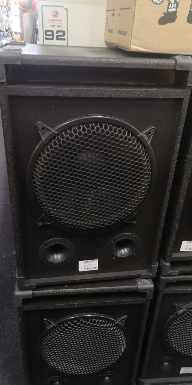 Disco 400W Speakers