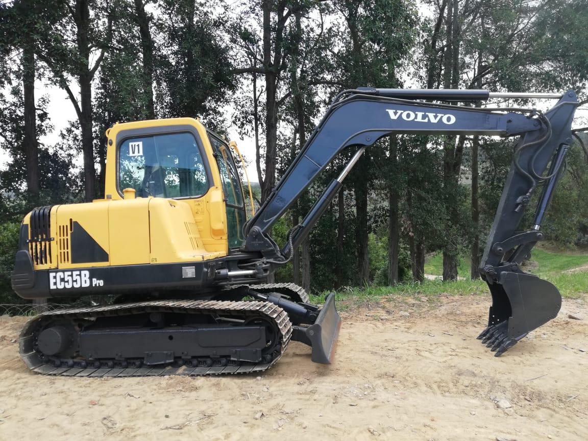 Volvo Ec 55 excavator