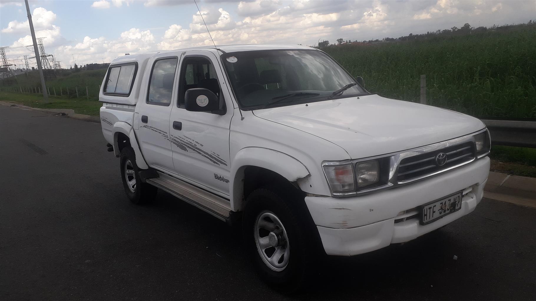 2000 Toyota Hilux double cab HILUX 3.0 D 4D RAIDER 4X4 A/T P/U D/C